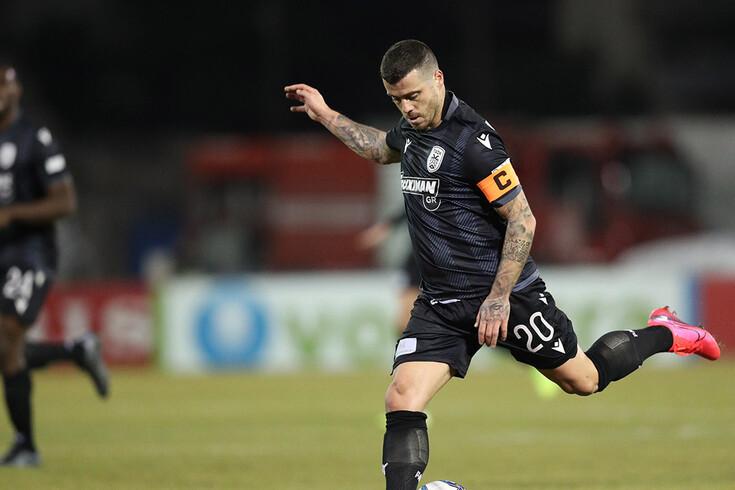 PAOK venceu o Lamia e mantém-se a um ponto do Olympiacos.