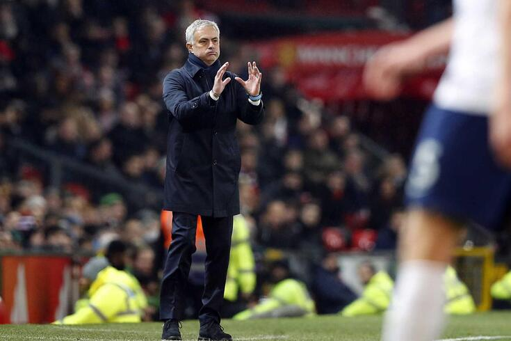 José Mourinho em Old Trafford