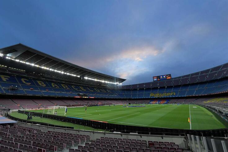 Camp Nou, estádio do Barcelona, vai ser um dos locais de voto das próximas eleições do clube