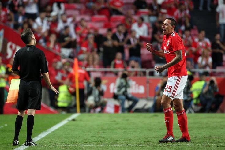 Lema está emprestado pelo Benfica