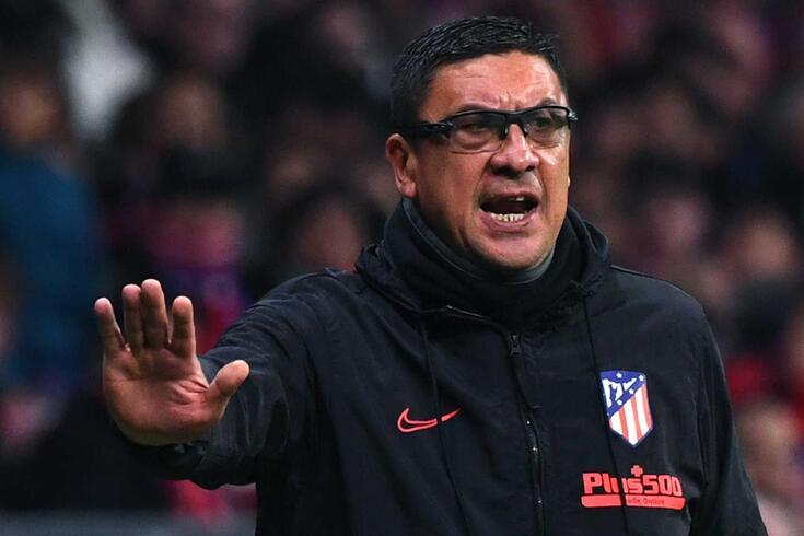 Germán Burgos, treinador adjunto do Atlético de Madrid