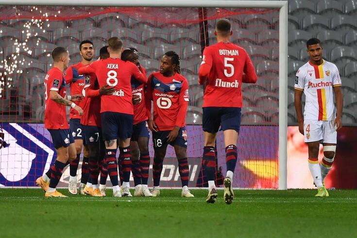 Lille vence, assume liderança e continua sem perder na Ligue 1