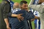 As lágrimas de Sérgio Conceição no final da Taça de Portugal