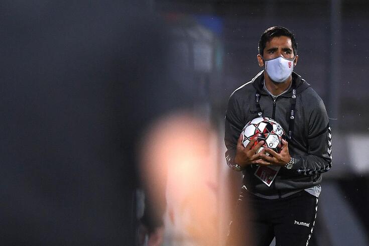 Custódio, treinador do Braga