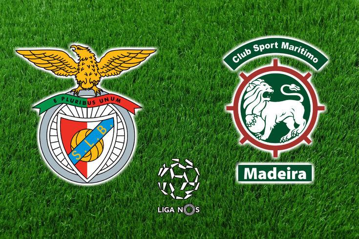 DIRETO | Benfica-Marítimo