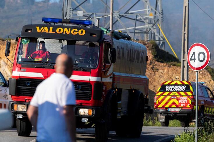 Queda de helicóptero em Sobrado, Valongo