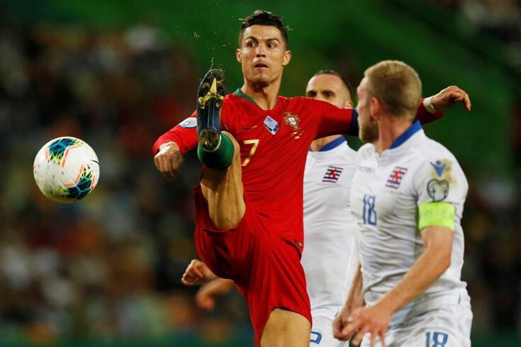 Portugal venceu o Luxemburgo
