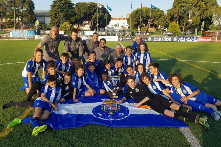 Equipa de sub-13 do FC Porto