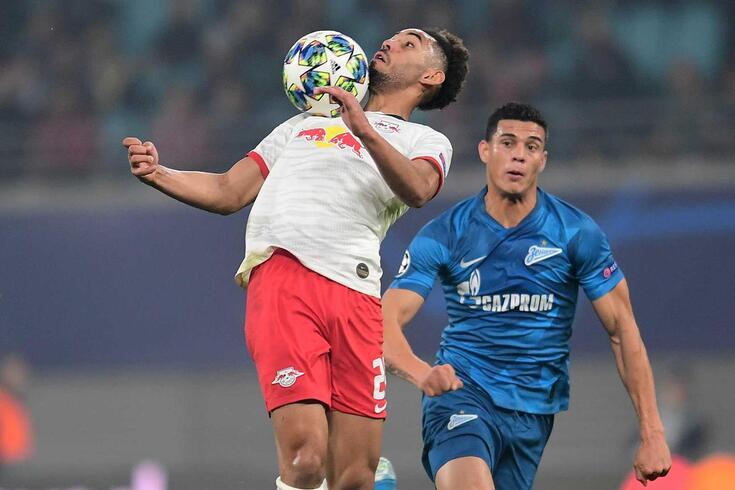 Osorio, defesa-central do Zenit,