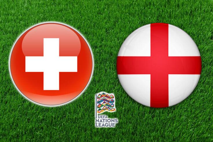 DIRETO LIGA DAS NAÇÕES   Suíça-Inglaterra