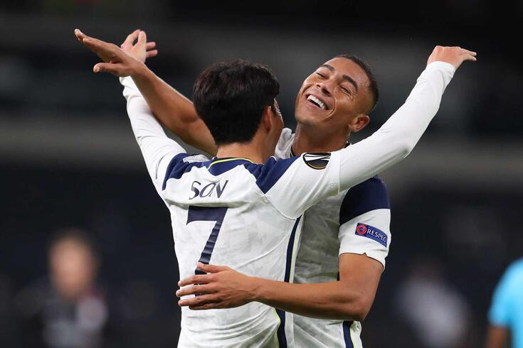 Vinícius estreou-se pelo Tottenham