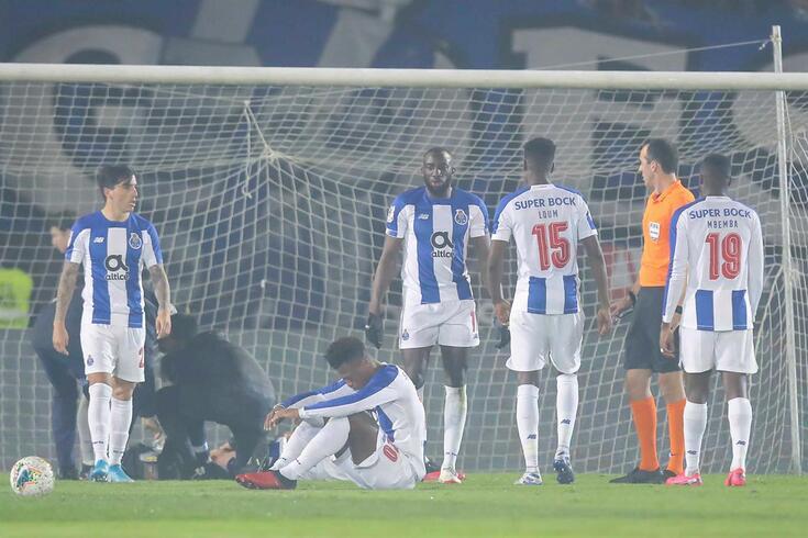 FC Porto queixou-se da arbitragem do jogo com o Ac. Viseu (1-1)