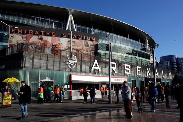 Emirates Stadium, palco do Arsenal-Sheffield United