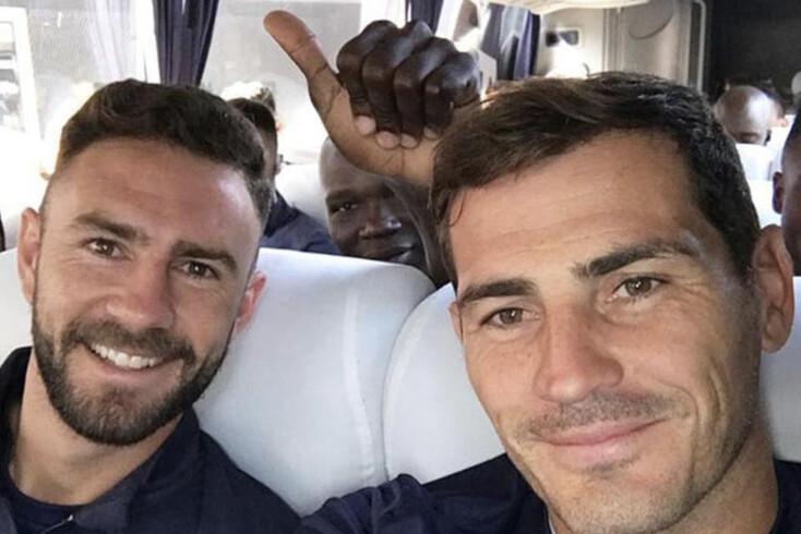 """""""Amigo, já chega de sustos"""", a mensagem de Casillas a Layún"""
