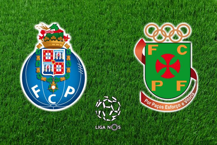 DIRETO | FC Porto-Paços de Ferreira