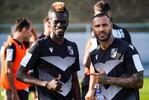 Quaresma e Sacko no treino do V. Guimarães