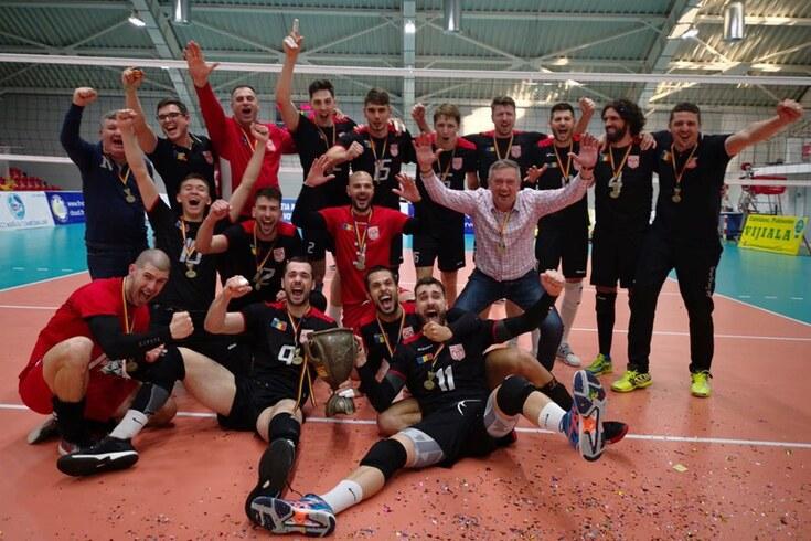 Internacional português José Pedro Gomes venceu a Taça da Roménia de voleibol