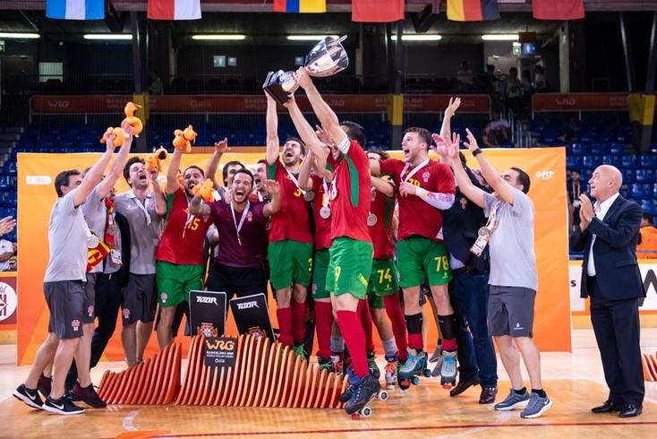 World Roller Games adiados: Portugal defende título mundiial em 2022