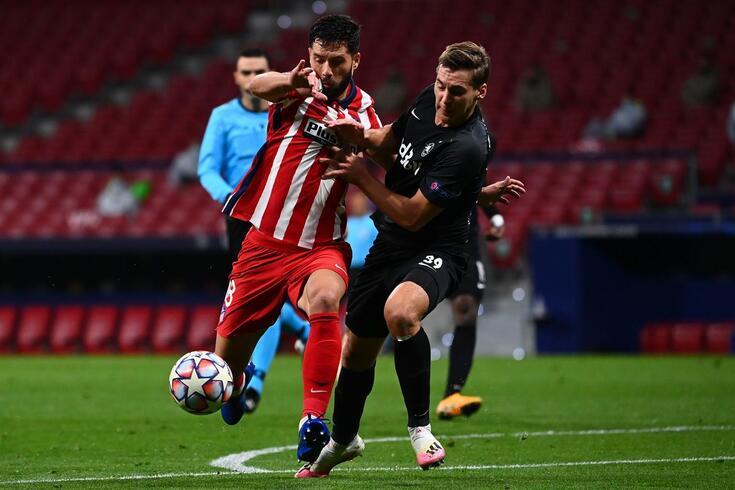 Felipe perdeu o estatuto de titular no Atlético de Madrid
