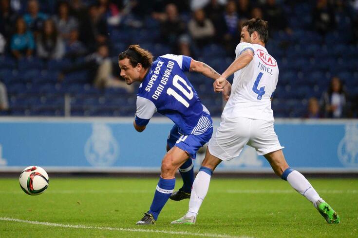 Osvaldo, aqui ao serviço do FC Porto