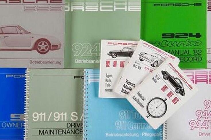 Porsche voltou a imprimir os manuais antigos