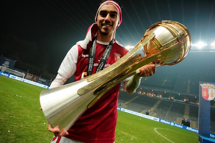 Ricardo Horta marcou e foi o herói do Taça da Liga