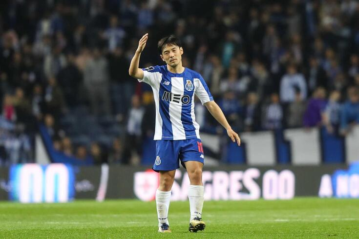 Nakajima, internacional japonês do FC Porto