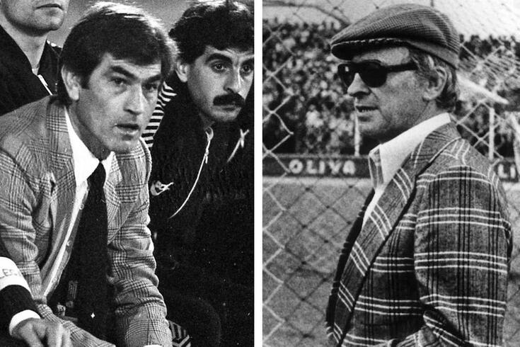 Joaquim Meirim e José Maria Pedroto: treinadores em barricadas diferentes após o 25 de abril