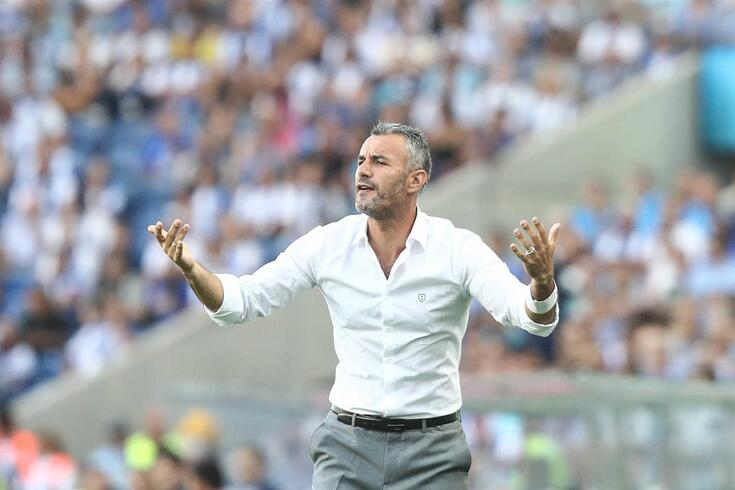 Ivo Vieira, treinador do V. Guimarães
