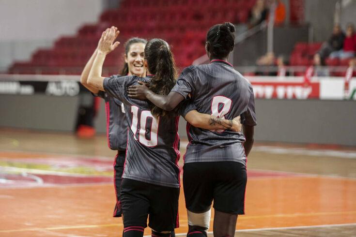 Taça de Portugal de futsal feminino: Nun'Álvares no caminho do Benfica