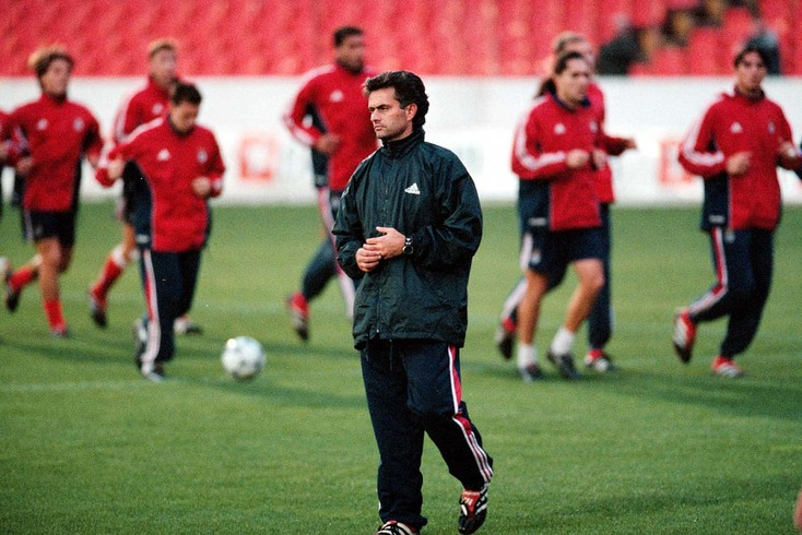 José Mourinho, aqui como treinador do Benfica