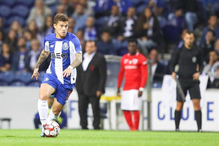 Otávio afirmou-se no FC Porto em 2016/17. Esta época leva 10 jogos realizados