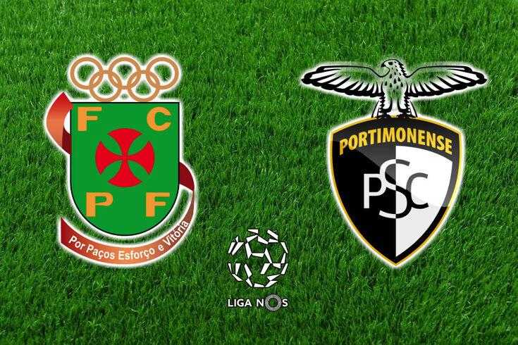 DIRETO | Paços Ferreira-Portimonense