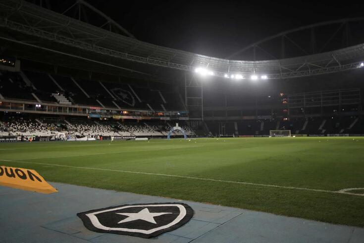 O Estádio Nilton Santos, reduto do Botafogo
