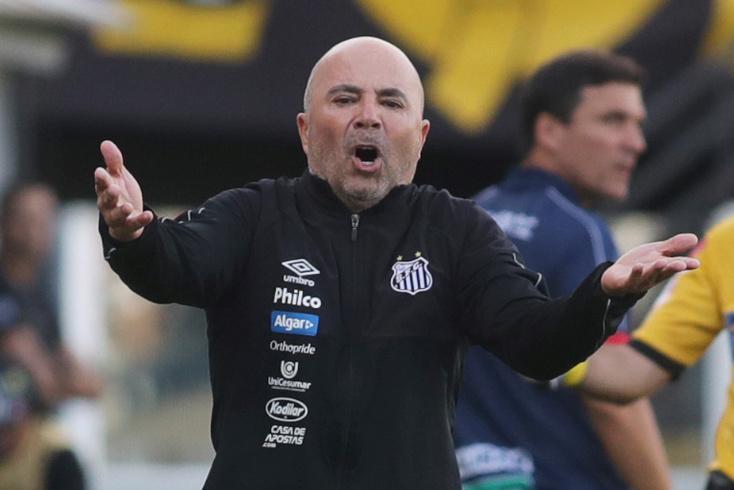 Sampaoli, treinador do Santos
