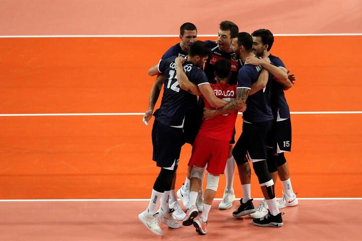 Portugal voltou a perder no Europeu de voleibol