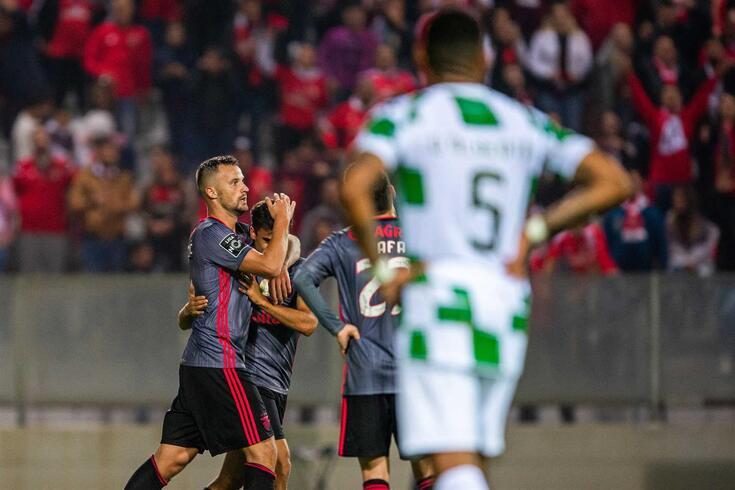 Seferovic deu a vitória ao Benfica em Moreira de Cónegos