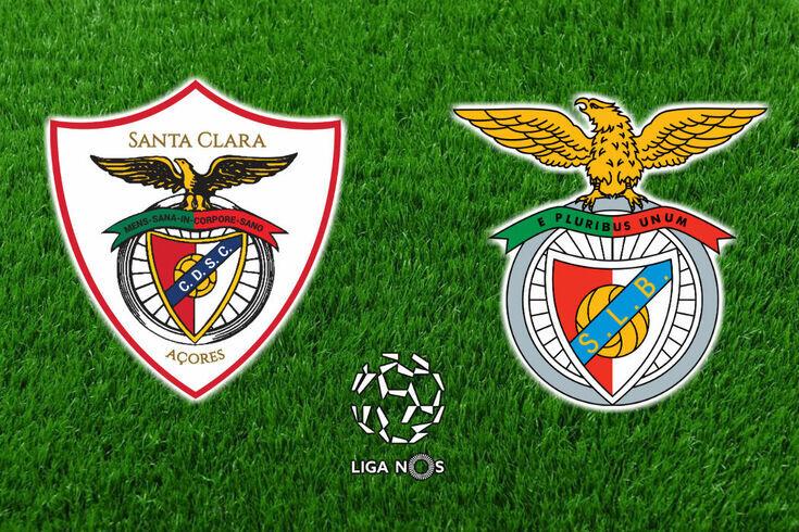 DIRETO | Santa Clara-Benfica