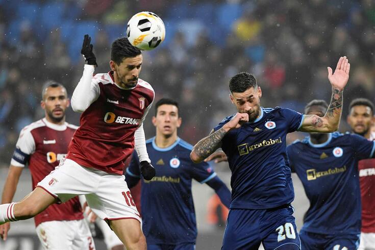 Rui Fonte marcou um dos golos do Braga.