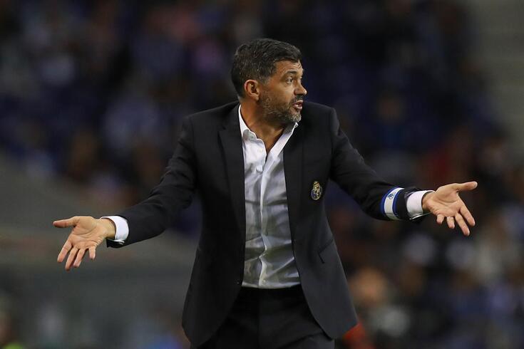 Sérgio Conceição explicou derrota com o Feyenoord