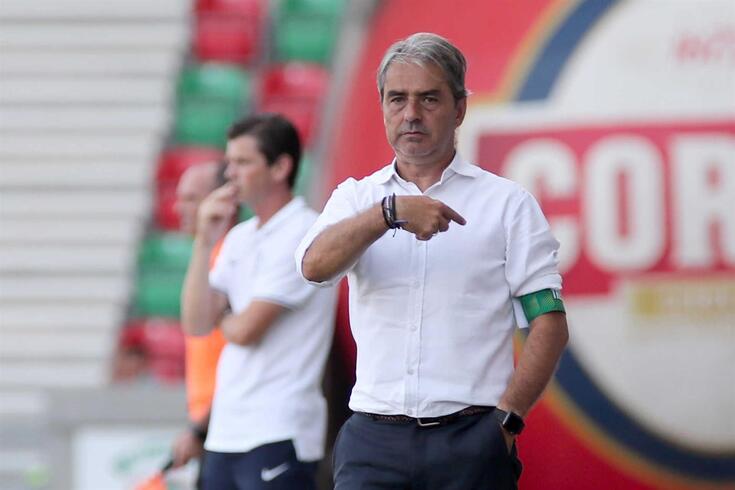 Natxo González, treinador do Tondela