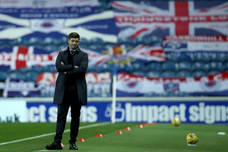 Steven Gerrard, treinador do Rangers