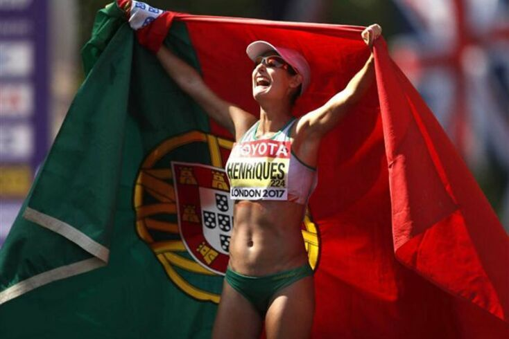 Inês Henriques vai defender no Catar o título dos 50 km marcha