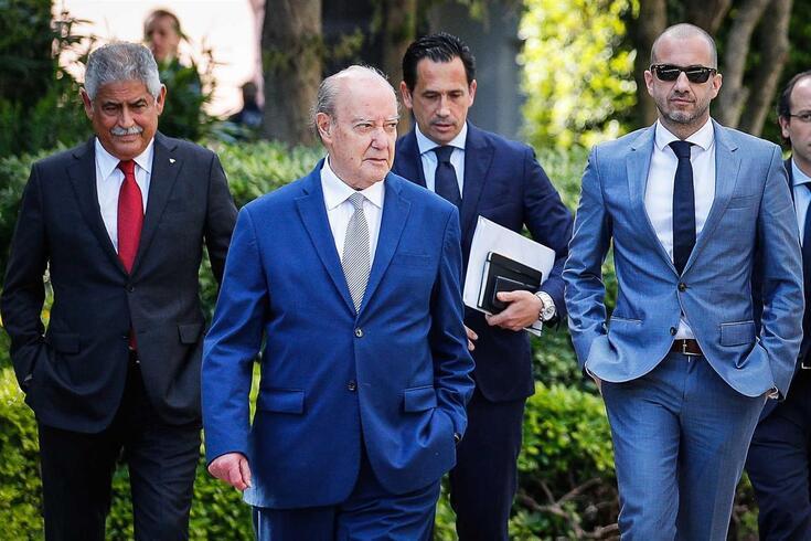 Luís Filipe Vieira, Pinto da Costa, Pedro Proença e Frederico Varandas