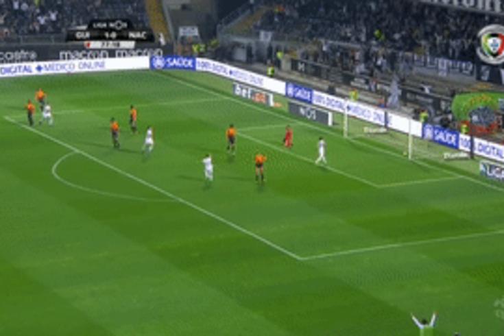 V. Guimarães-Nacional: Florent aumenta vantagem do Vitória com este golaço
