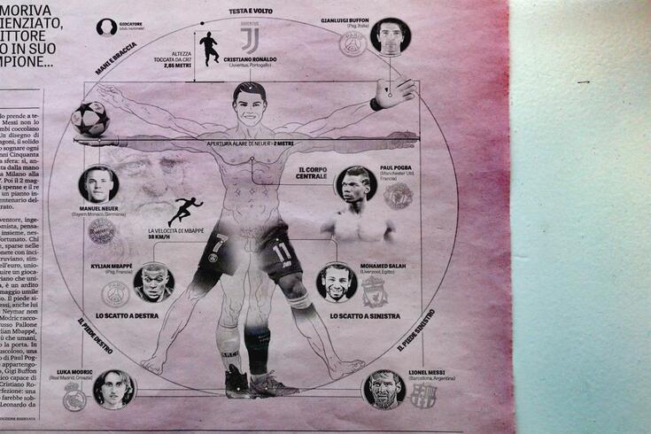 Infografia publicada na Gazzetta Dello Sport esta quarta-feira