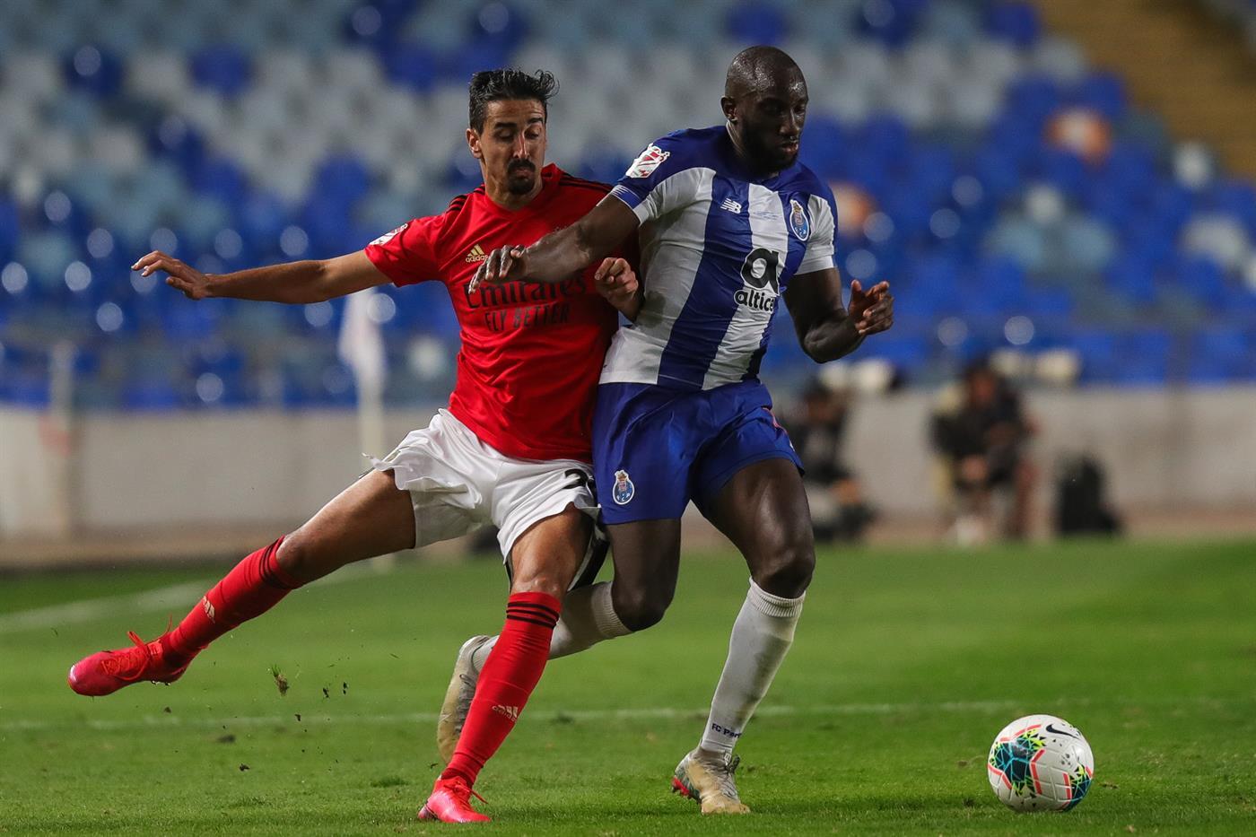 Coimbra, 01/08/2020 - O Sport Lisboa e Benfica recebeu esta noite o Futebol Clube do Porto, no Estádio