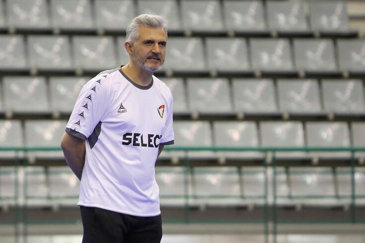 Selecionador Paulo Jorge Pereira