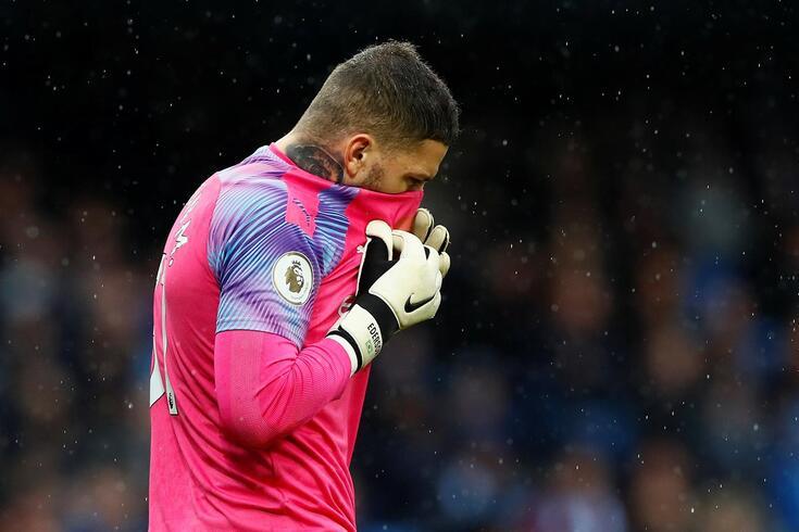 Ederson é baixa na baliza do Manchester City