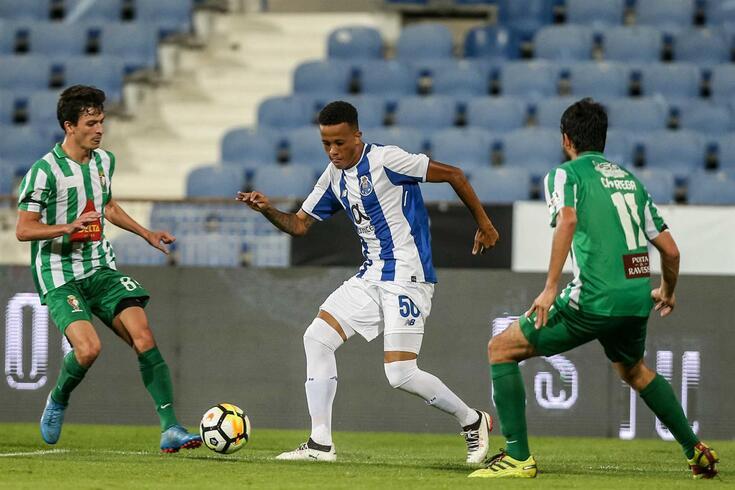 Médio brasileiro fez único jogo pela equipa principal do FC Porto em 2017, na Taça de Portugal